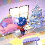 【配信プレゼント】白いクリスマスツリーをお部屋に飾ってみました