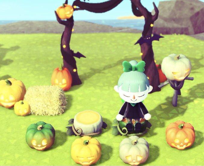 【あつ森】かぼちゃの栽培方法とハロウィン家具の作り方